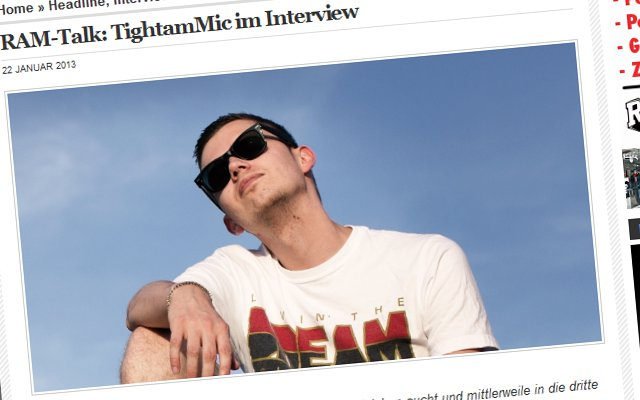 TightamMic im Interview